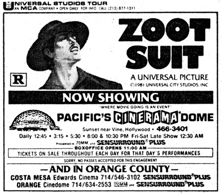 Watch Zoot Suit (1981) Full Movie Online Streaming